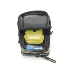 iLure Fly Fishing Bag Portable Mini Fishing Tackle Gear Bag Pocket Fishing Tackle Pouch Outdoors Sports Bag Pesca