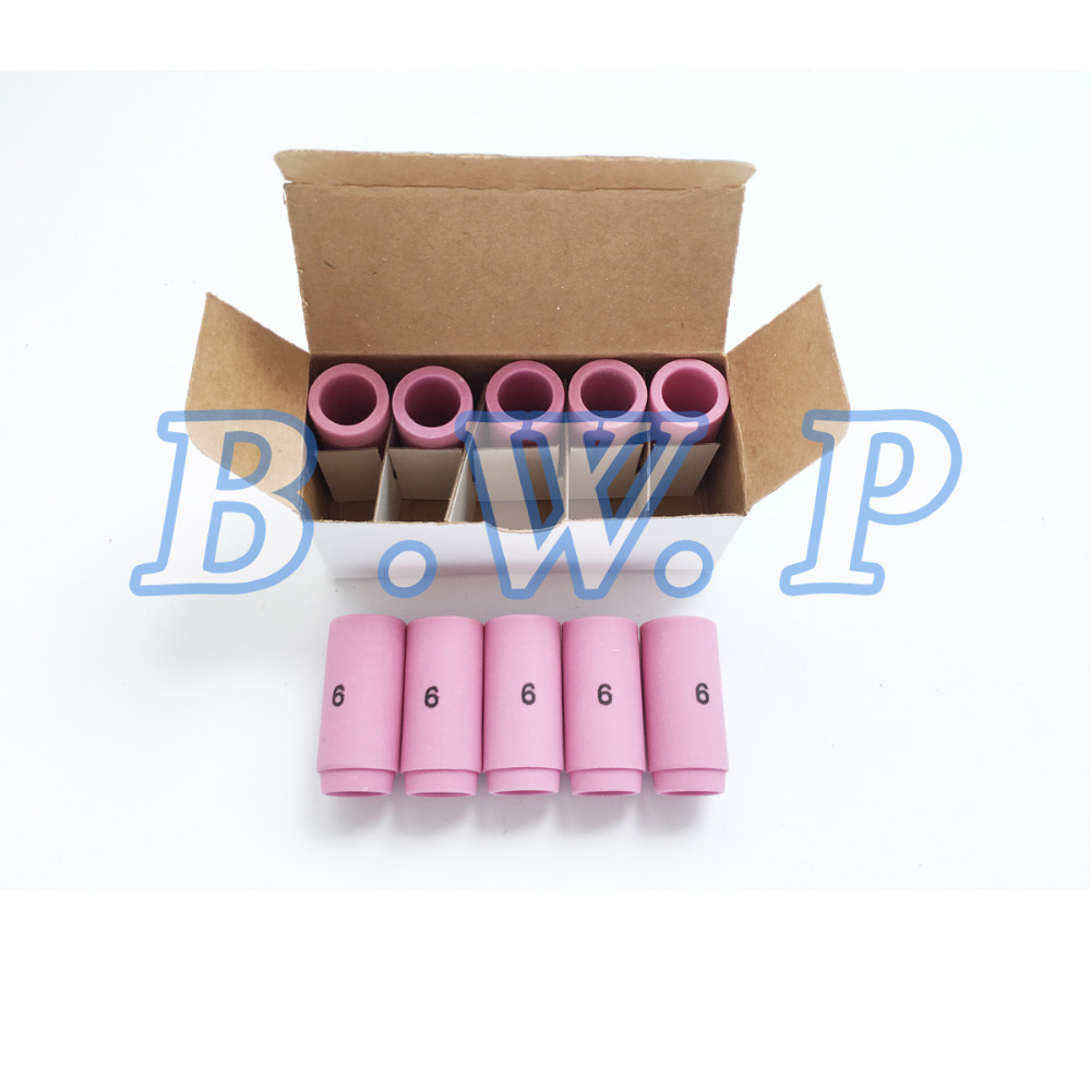 TIG Alumina Ceramic Cup 13N10 For Use With 9 /& 20 Torches 3//8inch Orifice 10pcs