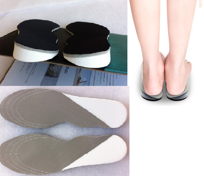 Lady Soft latex X&O legs orthopedics insole treat therapy orthotics insert for women shoes pad free shipping correct insoles