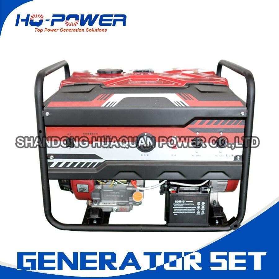 Бензиновый генератор 8 8000