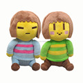 """Free Shipping EMS 100/Lot Undertale Frisk Chara 8"""" Stuffed Doll Plush Toy For Kids Gifts"""