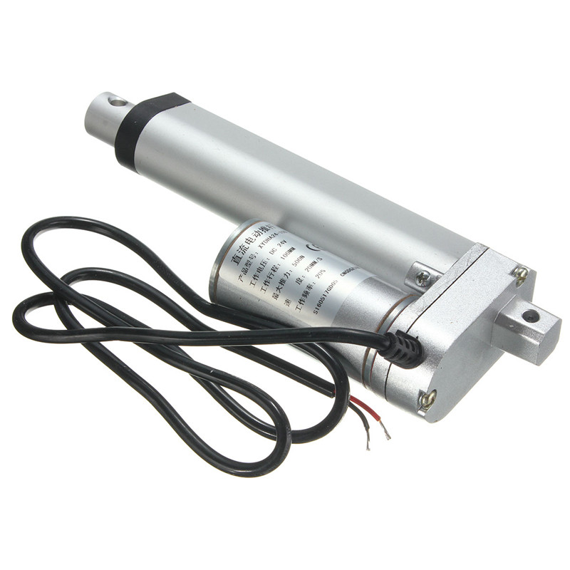 1PCS Multi-function 100mm DC 24V 500N 20MM/S Electric Push Rod Actuator Motor Stroke Heavy Duty Motor Accessories торшер favourite kombi арт 1703 1f