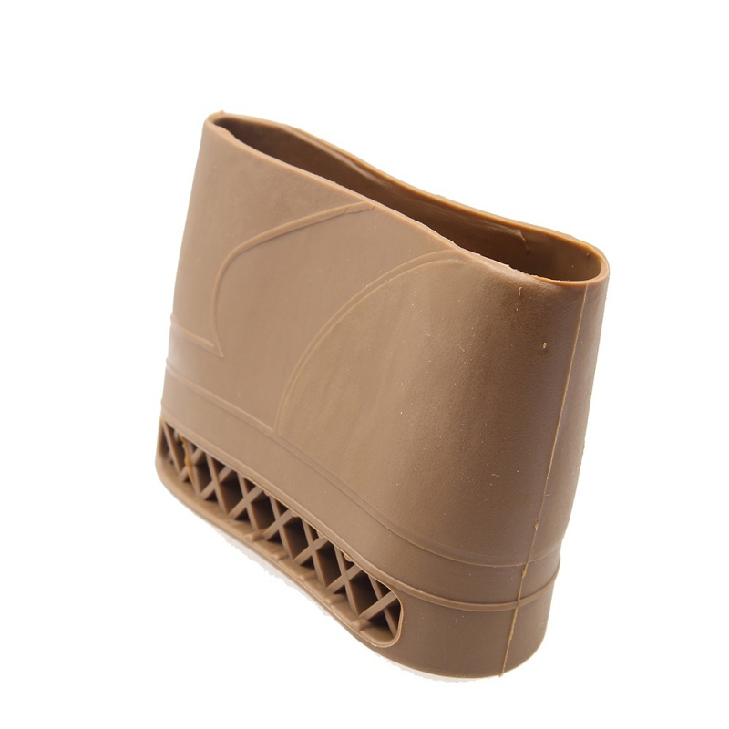 Hunting Rifle Rubber Recoil Pad Slip-On Buttstock Shotgun Shooting Extension Shotgun Gun Butt Protector Rubber Useful