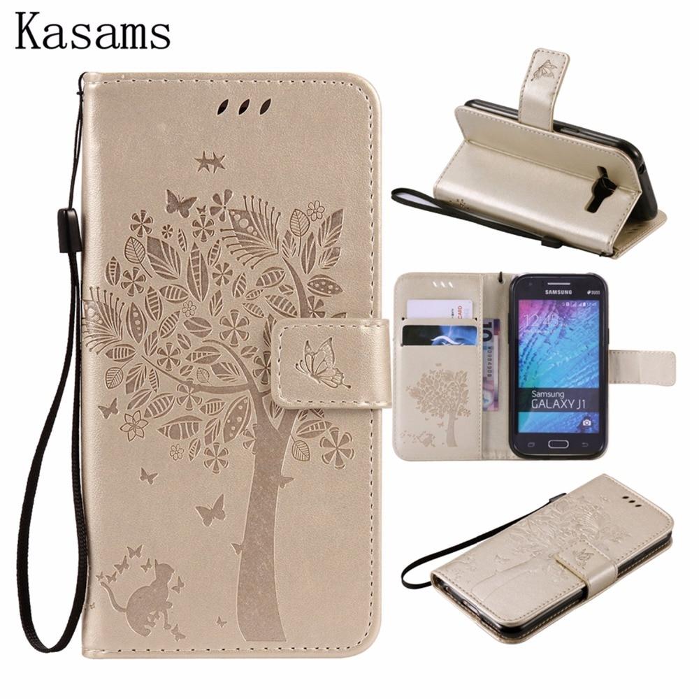 For Samsung Galaxy J7 J5 J3 2017 Pro Eu Version J730 J530 J330 Goospery Core Fancy Diary Case 3d Tree J1 2015 J100 2016 J120 Amp 2 Express 3 J111 Ace