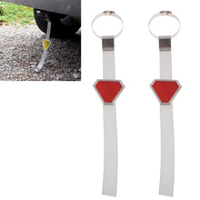 2pcs Car Vehicle Anti-Static Belt Grounding Strap Anti Static Protector Prevents Shock Safety Accessories Red