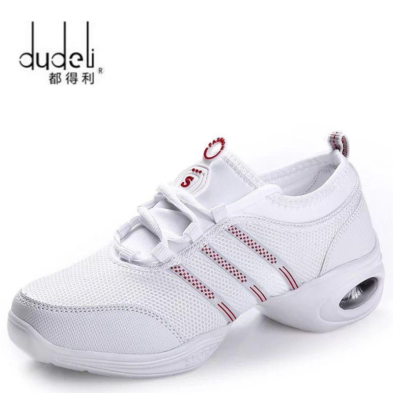 DUDELI New Women Dance Shoes Jazz Hip Hop Shoes Salsa Sneakers For Woman Modern Platform Dancing Ladies Shoes Footwear For Women