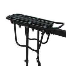 Universal Quick Detachable Mountain Bike Rear Shelf Black Bicycle Carrier with reflector and brake pads Top Quality