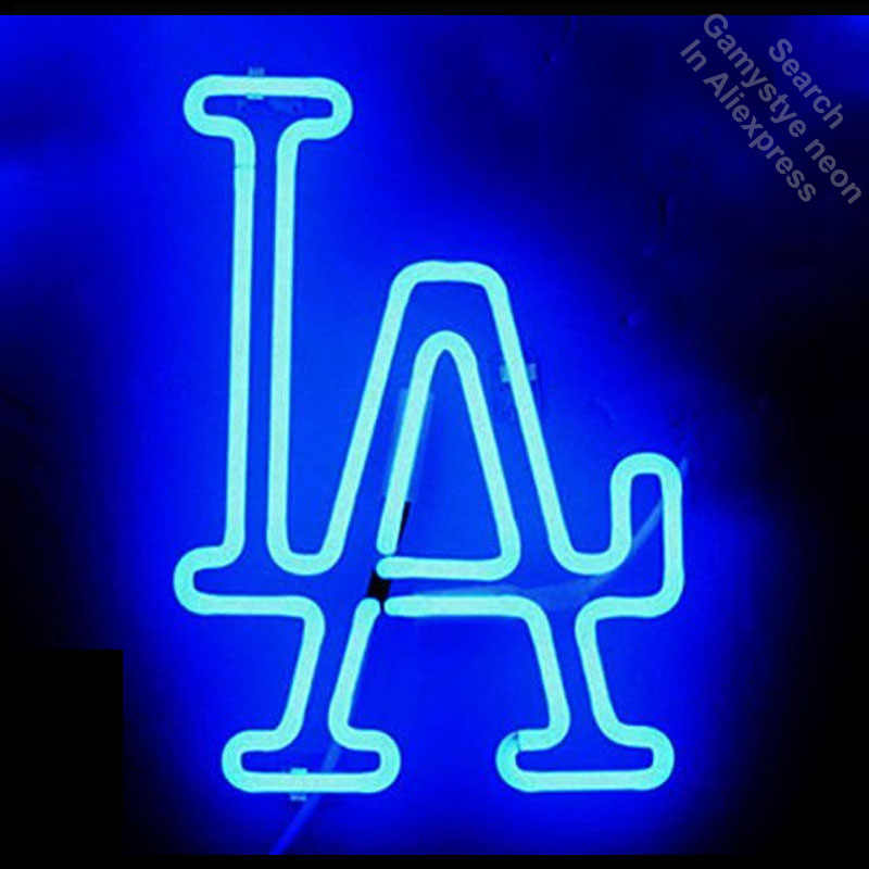 Detail Feedback Questions about Neon Sign for Sports Team LAD Logo ... 313c76e4929d1