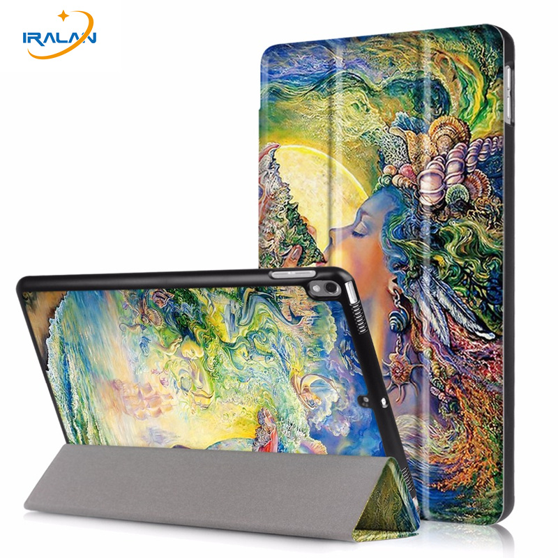 Ultra Slim PU Leather Smart Case for new iPad Pro 10.5 2017 tablet Stand Cover For Apple iPad Pro 10.5 A1701 A1709+film+stylus new luxury ultra slim silk tpu smart case for ipad pro 9 7 soft silicone case pu leather cover stand for ipad air 3 ipad 7 a71