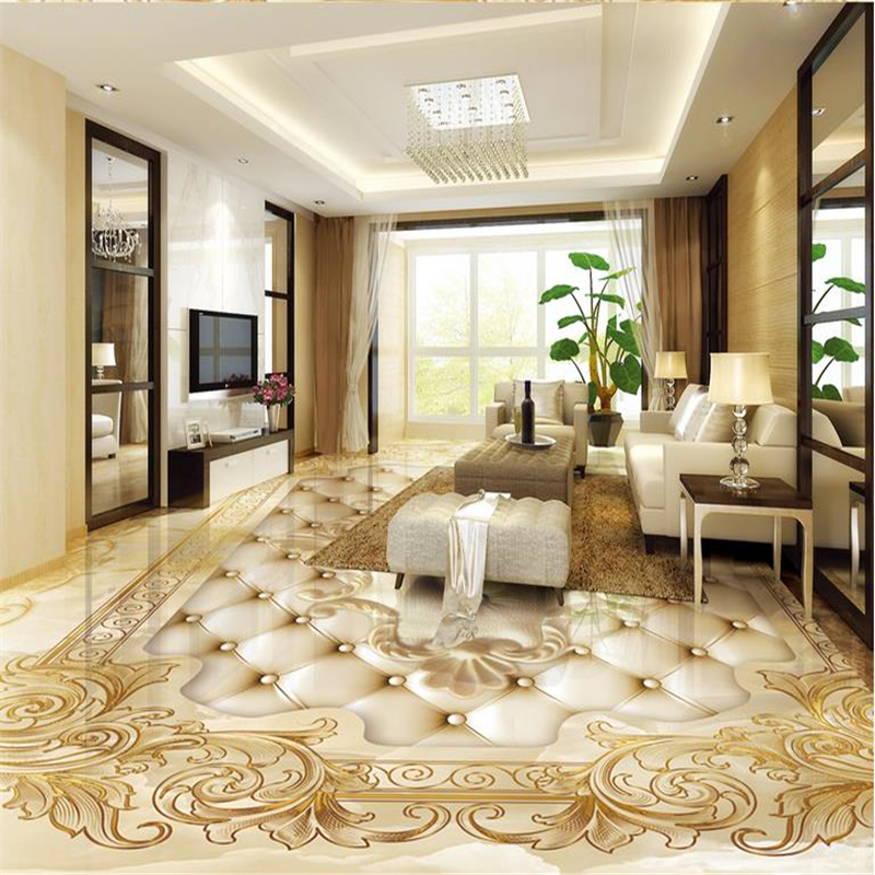 beibehang Golden rose Photo wallpaper mural floor Custom Photo self-adhesive 3D floor PVC waterproof floor Home Decorationbeibehang Golden rose Photo wallpaper mural floor Custom Photo self-adhesive 3D floor PVC waterproof floor Home Decoration
