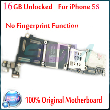 100% Original for iphone 5s motherboard without Touch ID function,16gb Unlocked for iphone 5s Mainboard with Chips,Free Shipping