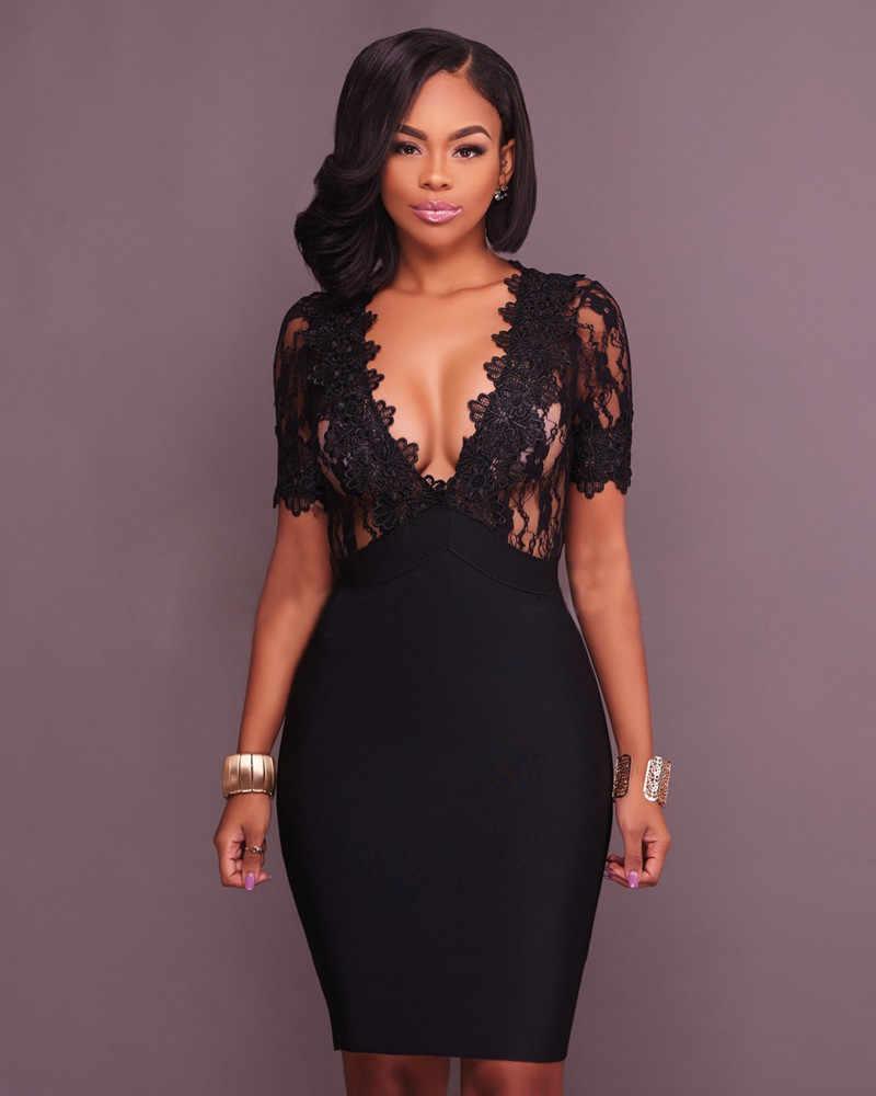 Новое поступление, кружевные вечерние платья в стиле пэчворк, сексуальное женское платье, Vestidos, черные, винно-красные платья знаменитостей, модные вечерние платья