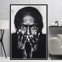 Miles Davis Blue Jazz Music Album Pop Star Singer Poster Prints Art Oil Painting Canvas Wall Pictures For Living Room Home Decor(China)
