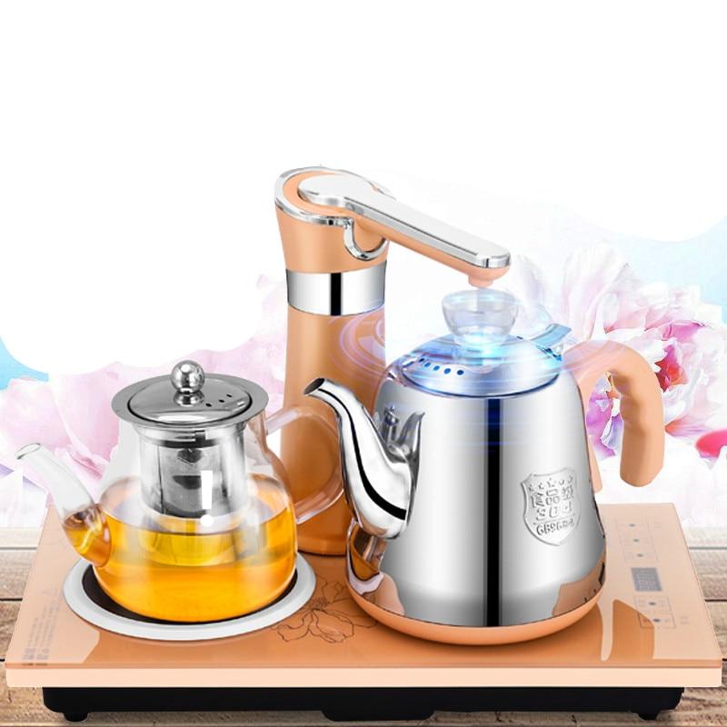 Автоматическая водой Электрический чайник, набор чай с плитой анти защита от сухого