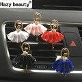 Hazy beauty Car Perfume With Cute Cartoon Air Conditioning Perfume Clip Decorations Perfumes 100 Original Car-styling Freshener