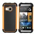 Para htc one m8 mini case para htc one mini 2 cubierta calidad de plástico y silicona 2 en 1 cubierta híbrida resistente al desgaste teléfono case