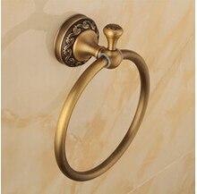 Новое поступление евро-стиль настенный античная бронзовая кольцо полотенца аксессуары для полотенцедержатель ванна оборудование