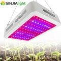1000 Вт полный спектр светодиодный свет для выращивания двойной чип панели растений лампа для гидропоники vegs травы тепличная палатка для ком...
