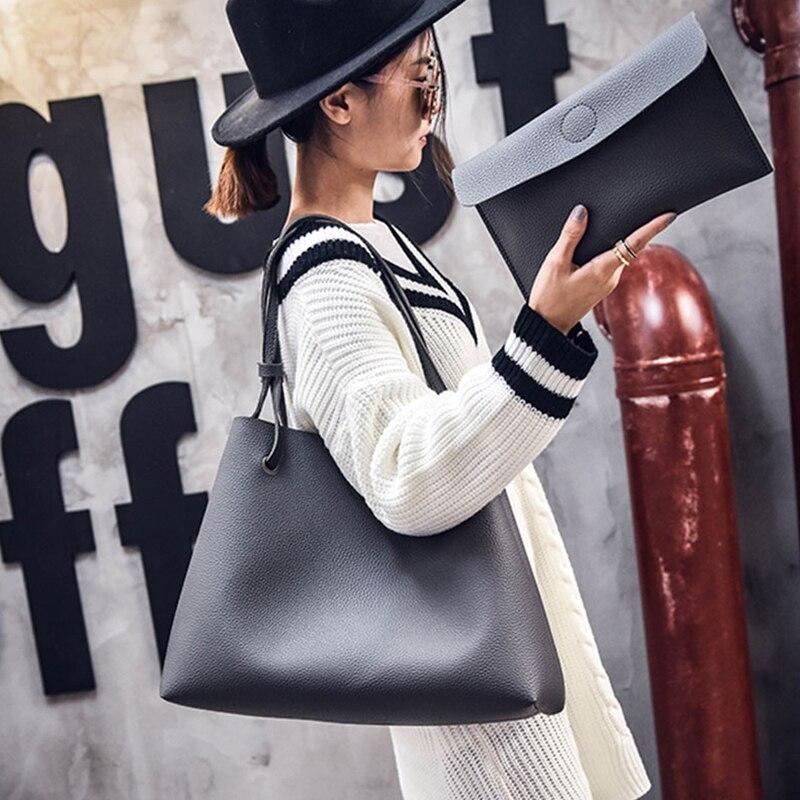 das senhoras para mulheres bolsas Color : Gray, black, dark Gray, brown