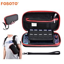 fosoto Nintend Change Sport Bag Storage Case Gamepad Shield Field&Deal with For Nintendo Change Onerous Protecting Moveable Carrying Bag
