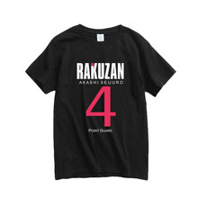 New Kurokos Basket ball Cosplay T-shirt  Kuroko no Basuke Akashi Seijuro Kise Ryota Cotton Men T shirt Anime Tops Tees