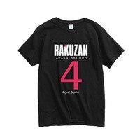 New Kuroko's Basket ball Cosplay T-shirt Kuroko no Basuke Akashi Seijuro Kise Ryota Cotton Men T shirt Anime Tops Tees