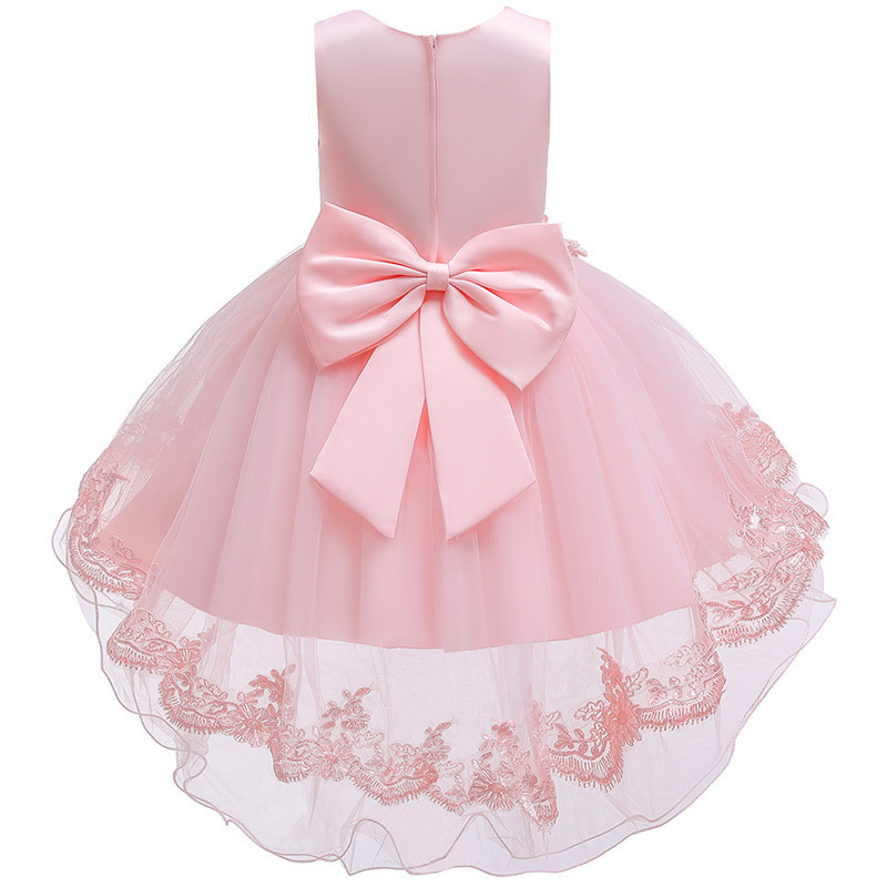 HTB1WnpPe8Cw3KVjSZFuq6AAOpXaY - Kids Princess Dresses For Girls Clothing Flower Party Girls Dress Elegant Wedding Dress For Girl Clothes 3 4 6 8 10 12 14 Years