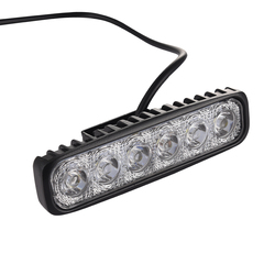 1pcs led work light bar 18w for motorcycle car truck boat tractor working light off road.jpg 250x250
