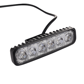 1pcs led work light bar 18w for motorcycle car truck boat tractor working light off road.jpg 350x350