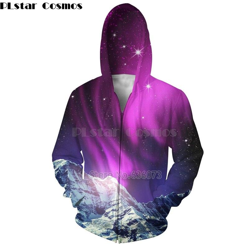 PLstar Cosmos 2018 New Fashion mens 3D hoodies Galaxy ...
