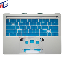 Top Case For Macbook Pro Retina A1706 US keyboard case 2016 2017 Silver Color