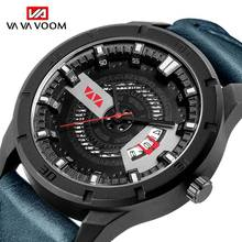 Relogio Masculino 2019 Mens Watches Top Brand Luxury Man Sport Military Army Wristwatch Blue Leather Quartz Male Clock Relojes infantry top brand luxury mens watches fashion casual sport wristwatch led display date clock army military relogio masculino