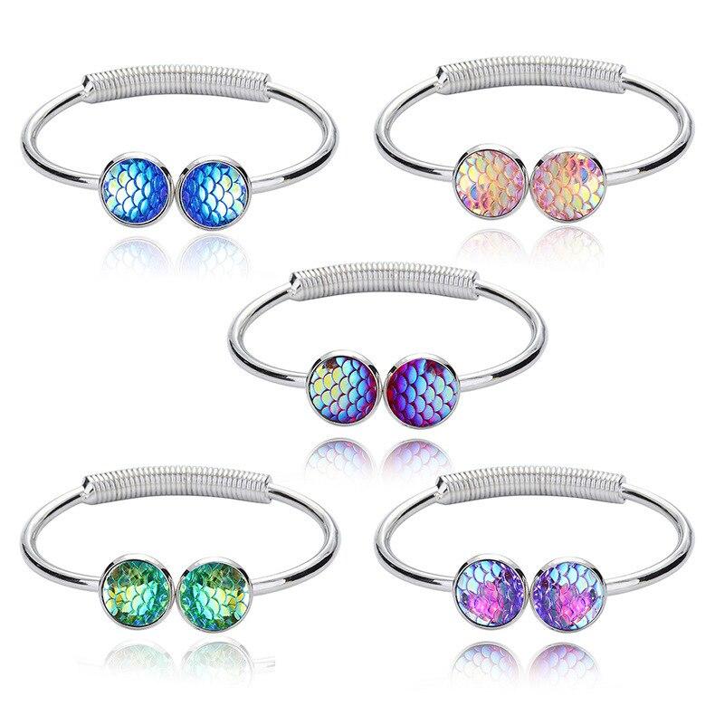 New Product Korean Woman European Fashion Multicolor Scale Can Open Bracelet bracelets for women jewelry 050TIF erd bohemian