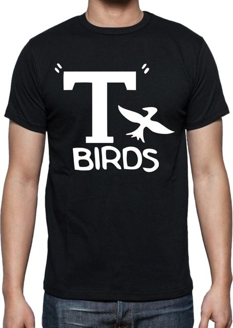2017 New T- Birds T Shirt-Grease Film Tutte Le 3D Printed Men s 100% Cotton  Tee Shirt High Quality O-Neck Short Sleeve Tees 9fe1ccc19