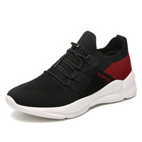 2019 New Men'S Mesh Shoes Men'S Casual Shoes Super Lightweight Sports Shoes Flying Woven Shoes Wild Trend Breathable Men