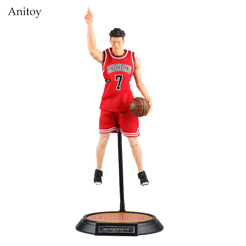 SLAM DUNK #7 Miyagi Ryota Variant Action Figure 1/6 scale painted figure Shohoku PVC Figure Collectible Model Toy 34cm KT3988 terminator 3 rise of the machines t x 1 6 scale pre painted pvc action figure collectible model toy 28cm