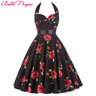 Save 15.39 on Belle Poque Vintage Dresses 50s 60s Plus Size Clothing 2017 Party Robe Vintage Retro Rockabilly Floral Swing Women Summer Dress