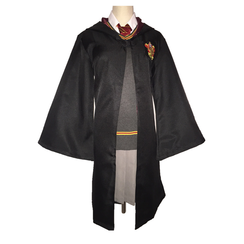 Halloween New Original Gryffindor Uniform Hermione cloak Rabe vest Granger Best Quality Cosplay Costume Child Party Gifts