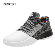 ZENVBNV Spring Summer Men Sneakers Beathable Mesh Male Casual Shoes Lace up Loafers Boys Super Light Patchwork Trainers