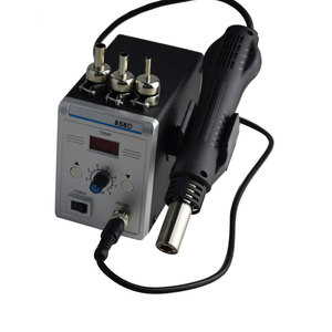 Image 5 - Lead free SMD Soldering Station LED Digital Solder Iron Hot Air GUN Blowser Eruntop 858D 858d+
