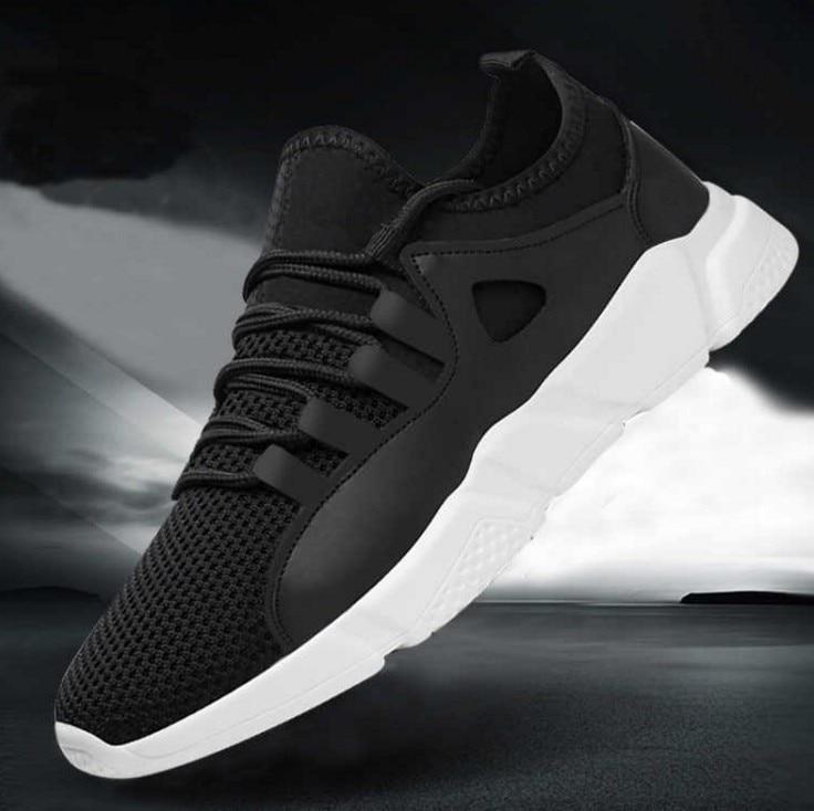 Tenis Cpcook Zapatillas black Transpirable Moda Caminar White Adultos Krasovki Calzado 2018 Casual Blanco Para Aire Hombres Malla Libre Black Zapatos Al SxHSwr6Cgq