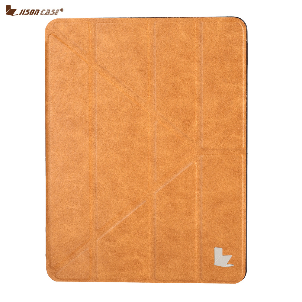 Jisoncase Protective Case for iPad PRO 12.9 inch 2017 Stylish TPU Tablet Cover Built-in Pen slot for iPad PRO 12.9 inch 2017