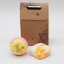 Tsing Bath bomb Stress Relief 120g  Bubble Camomile Handmade Soap 100g Natural bath bombs Scented Essential oil Gift Sets