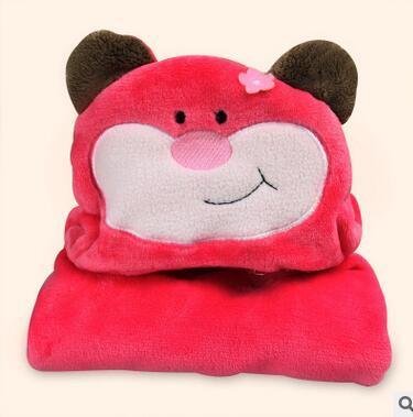 Volar la nueva albornoz de los niños es suave Capa con capucha Roja mono capa de toallas de baño Suave y lindo bebé animal modelo de alfombra