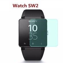 Ultradünne Premium Glas Film Echt Ausgeglichenes Glas-schirm-schutz Für SONY SW2 SW3 intelligente Smartwatch