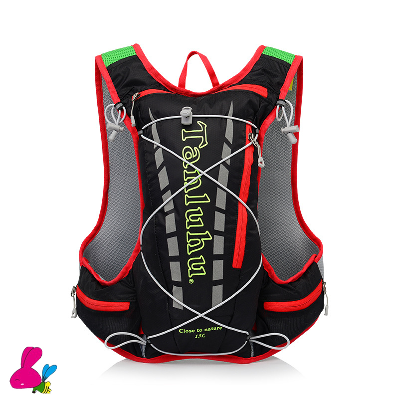 Climbing Running Bicycle Bag Shoulder Backpack Ultralight Sport Riding MTB Hydration Backpack 15L Bike Bicycle Cycling Hiking