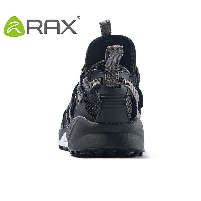 Rax chaussures de Trekking pour hommes chaussures de randonnée chaussures de marche de montagne pour hommes femmes chaussures de randonnée chaussures de sport d'escalade respirantes - 4