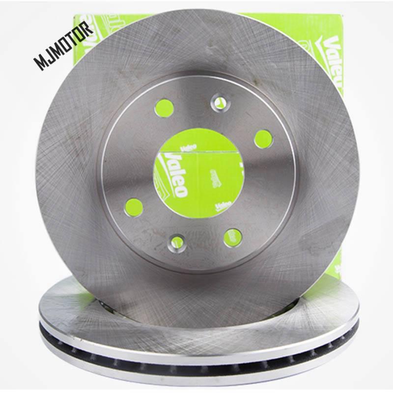 (2 pcs/lot) disques de frein avant kit pour Chinois Dongfeng Auto voiture PEUGEOT 307 206 2008 301 PARTENAIRE DS3 C-ELYSEE moteur partie 4246W1