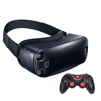 Gear VR 4.0 3D Glasses Built-in Gyro Sensor Virtual Reality Headset for Samsung Galaxy S9 S9Plus S8 S8+ S6 S6 Edge+ S7 S7 Edge 2