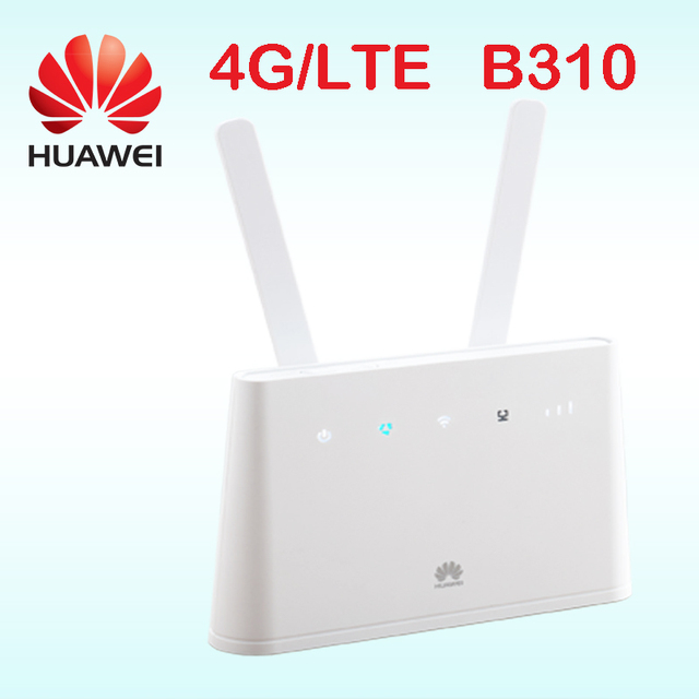 huawei b310 wifi 4g router hotspot b310s-22 wireless 3g router with external antenna lte routers rj45  CPE car pk b890 e5172